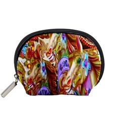 3 Carousel Ride Horses Accessory Pouches (Small)