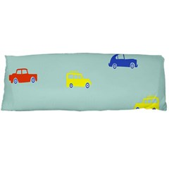 Car Yellow Blue Orange Body Pillow Case Dakimakura (Two Sides)