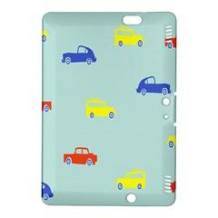 Car Yellow Blue Orange Kindle Fire HDX 8.9  Hardshell Case