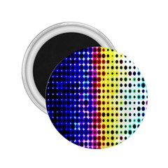 A Creative Colorful Background 2.25  Magnets