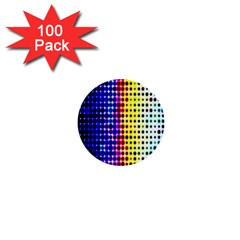 A Creative Colorful Background 1  Mini Buttons (100 Pack)