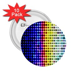 A Creative Colorful Background 2 25  Buttons (10 Pack)