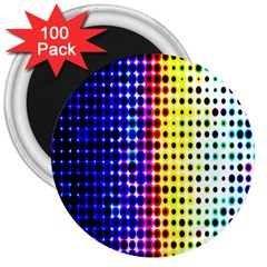 A Creative Colorful Background 3  Magnets (100 pack)