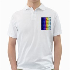 A Creative Colorful Background Golf Shirts