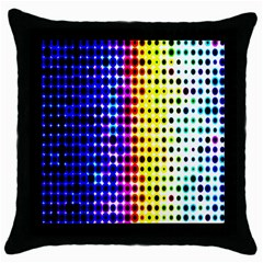 A Creative Colorful Background Throw Pillow Case (black)
