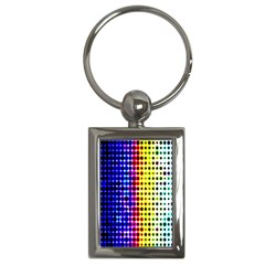 A Creative Colorful Background Key Chains (Rectangle)