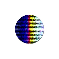 A Creative Colorful Background Golf Ball Marker