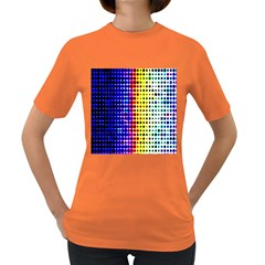 A Creative Colorful Background Women s Dark T-Shirt