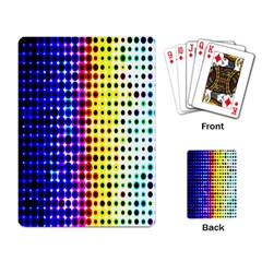 A Creative Colorful Background Playing Card