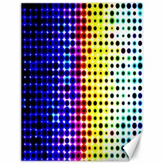 A Creative Colorful Background Canvas 12  x 16