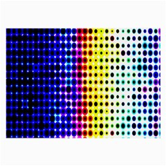 A Creative Colorful Background Large Glasses Cloth (2-Side)
