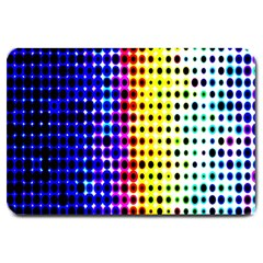 A Creative Colorful Background Large Doormat