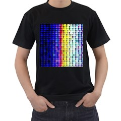 A Creative Colorful Background Men s T Shirt (black)