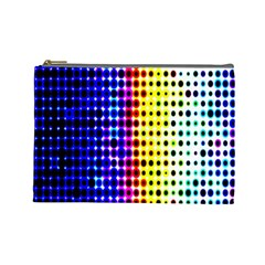 A Creative Colorful Background Cosmetic Bag (Large)