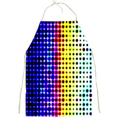 A Creative Colorful Background Full Print Aprons