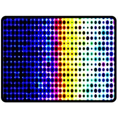 A Creative Colorful Background Fleece Blanket (large)