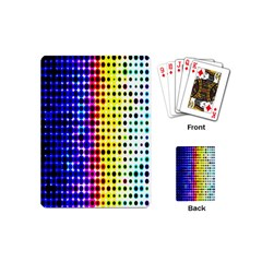 A Creative Colorful Background Playing Cards (Mini)