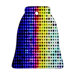 A Creative Colorful Background Ornament (Bell)