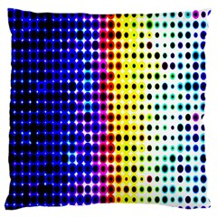 A Creative Colorful Background Large Cushion Case (one Side)