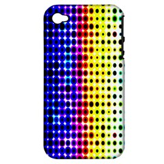 A Creative Colorful Background Apple iPhone 4/4S Hardshell Case (PC+Silicone)