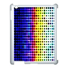A Creative Colorful Background Apple iPad 3/4 Case (White)