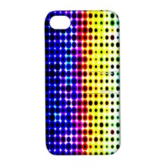 A Creative Colorful Background Apple iPhone 4/4S Hardshell Case with Stand