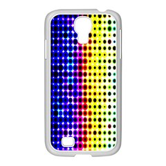 A Creative Colorful Background Samsung GALAXY S4 I9500/ I9505 Case (White)
