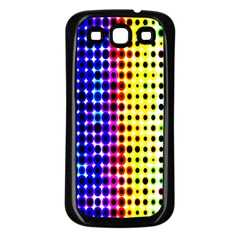 A Creative Colorful Background Samsung Galaxy S3 Back Case (black)