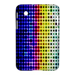 A Creative Colorful Background Samsung Galaxy Tab 2 (7 ) P3100 Hardshell Case