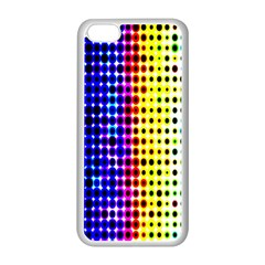 A Creative Colorful Background Apple iPhone 5C Seamless Case (White)