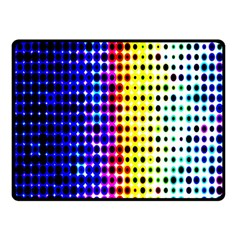 A Creative Colorful Background Double Sided Fleece Blanket (Small)