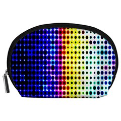 A Creative Colorful Background Accessory Pouches (Large)