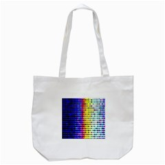 A Creative Colorful Background Tote Bag (white)