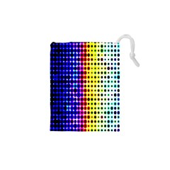 A Creative Colorful Background Drawstring Pouches (XS)
