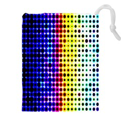 A Creative Colorful Background Drawstring Pouches (XXL)