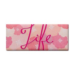 Life Typogrphic Cosmetic Storage Cases