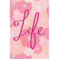 Life Typogrphic 5 5  X 8 5  Notebooks