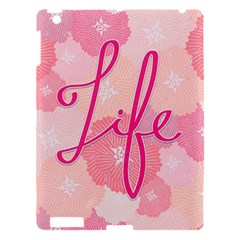 Life Typogrphic Apple iPad 3/4 Hardshell Case
