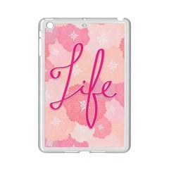 Life Typogrphic Ipad Mini 2 Enamel Coated Cases