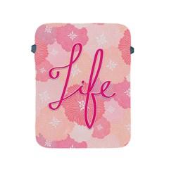Life Typogrphic Apple iPad 2/3/4 Protective Soft Cases