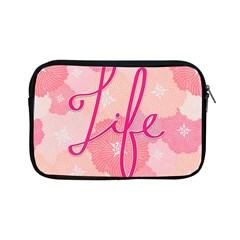 Life Typogrphic Apple iPad Mini Zipper Cases