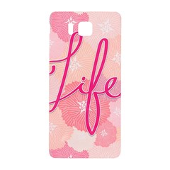 Life Typogrphic Samsung Galaxy Alpha Hardshell Back Case