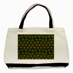 Stars Pattern Background Basic Tote Bag (Two Sides)