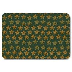 Stars Pattern Background Large Doormat