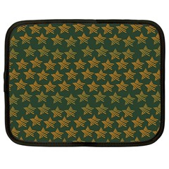 Stars Pattern Background Netbook Case (Large)