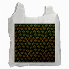 Stars Pattern Background Recycle Bag (Two Side)