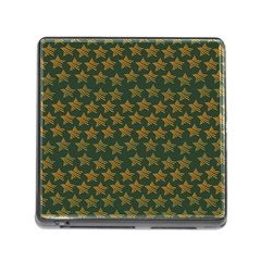 Stars Pattern Background Memory Card Reader (Square)