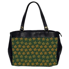 Stars Pattern Background Office Handbags (2 Sides)