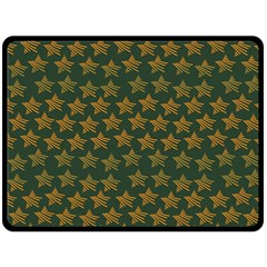 Stars Pattern Background Fleece Blanket (Large)
