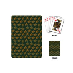 Stars Pattern Background Playing Cards (Mini)